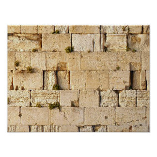 HaKotel - la pared occidental Póster