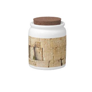 HaKotel - The Western Wall Candy Jars