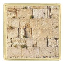 HaKotel - The Western Wall Gold Finish Lapel Pin