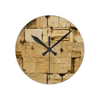 HaKotel - The Western Wall Round Clock