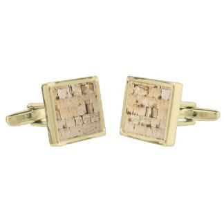 HaKotel - The Western Wall - Two Sections Cufflinks