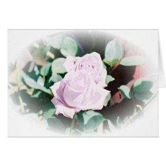 Haku rose card
