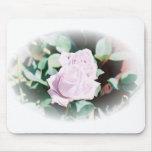 Haku rose mouse mat