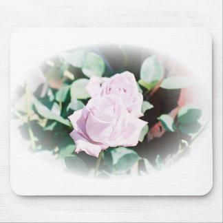Haku rose mouse pad