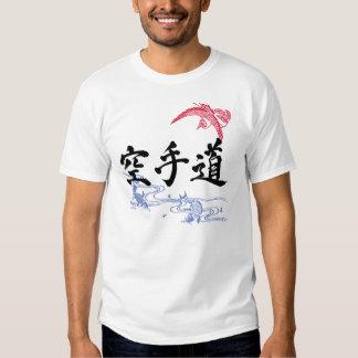 Hakuchu-Do KANJI Calligraphy Art KARATEDO T-Shirt