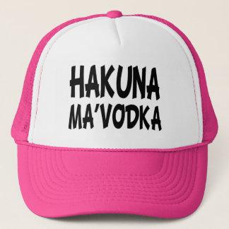 Hakuna Ma' Vodka funny hat