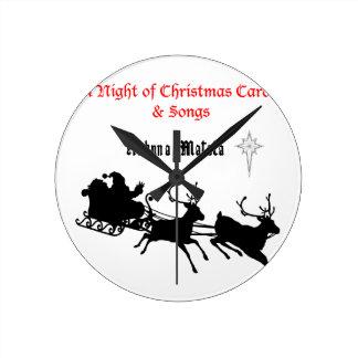 HAKUNA Matata a Night of Christmas Carols & Songs Round Wallclock