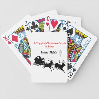 HAKUNA Matata a Night of Christmas Carols & Songs Bicycle Playing Cards