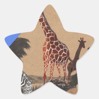 Hakuna Matata African Animals Pride lands.png Star Sticker