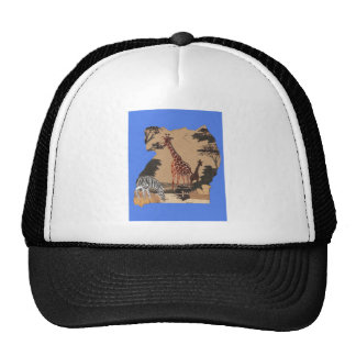 Hakuna Matata African Animals Pride lands.png Trucker Hat