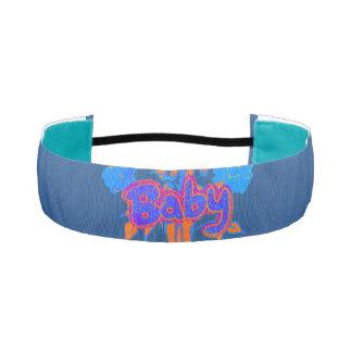 Hakuna Matata Aqua baby Non-Slip Athletic Headband