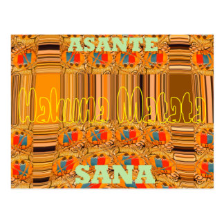 Hakuna Matata Asante Sana le agradece mucho Tarjeta Postal