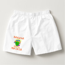 Hakuna Matata At its Best Basic Men's Special wear Boxers
