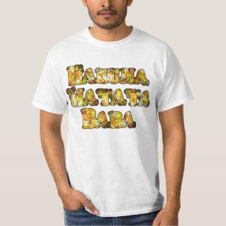 Hakuna Matata Baba Gift  Cool Vintage Tee Shirts
