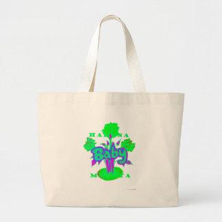Hakuna Matata Baby bloom Large Tote Bag