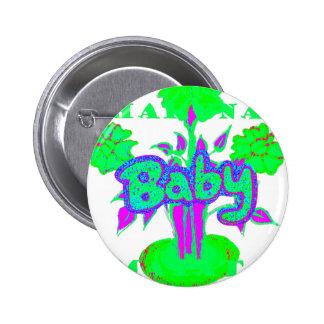 Hakuna Matata Baby bloom Pinback Button