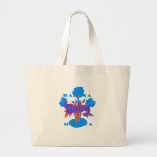 Hakuna Matata Baby Blue Large Tote Bag