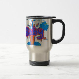 Hakuna Matata Baby Blue Travel Mug