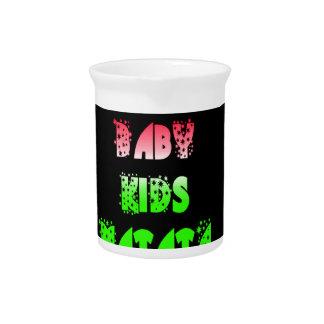 Hakuna Matata Baby Kids Gifts  amazing  color desi Beverage Pitcher