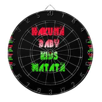 Hakuna Matata Baby Kids Gifts  amazing  color desi Dart Board