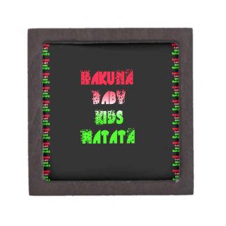 Hakuna Matata Baby Kids Gifts  amazing  color desi Gift Box