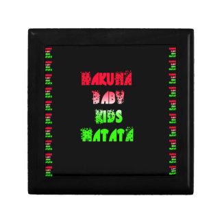 Hakuna Matata Baby Kids Gifts  amazing  color desi Jewelry Box