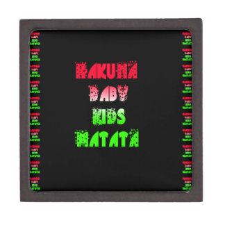 Hakuna Matata Baby Kids Gifts  amazing  color desi Keepsake Box