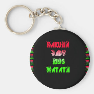 Hakuna Matata Baby Kids Gifts  amazing  color desi Keychain