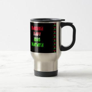 Hakuna Matata Baby Kids Gifts  amazing  color desi Travel Mug