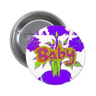 Hakuna Matata Baby kids purple  plant.png Button
