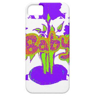 Hakuna Matata Baby kids purple  plant.png iPhone 5 Cover
