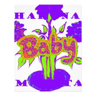 Hakuna Matata Baby kids purple  plant.png Letterhead