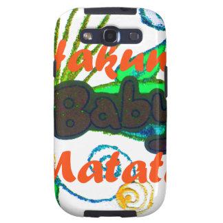 Hakuna Matata Baby.png Samsung Galaxy S3 Covers