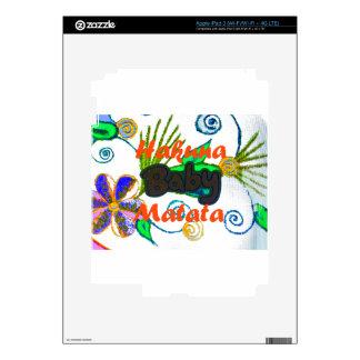 Hakuna Matata Baby.png Decals For iPad 3