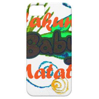 Hakuna Matata Baby.png iPhone SE/5/5s Case