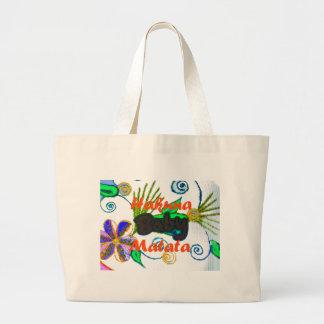 Hakuna Matata Baby.png Large Tote Bag