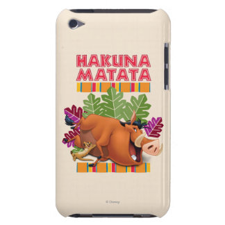 Hakuna Matata Barely There iPod Cases