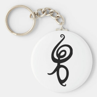 Hakuna Matata Basic Round Button Keychain