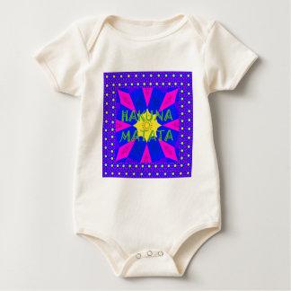 Hakuna Matata Beautiful Amazing Design Colors Baby Bodysuit