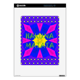 Hakuna Matata Beautiful Amazing Design Colors iPad Skins