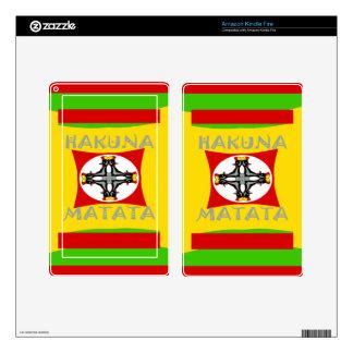 Hakuna Matata Beautiful amazing design Kindle Fire Decal