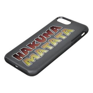 Hakuna Matata beautiful amazing text colors design OtterBox Symmetry iPhone 7 Plus Case