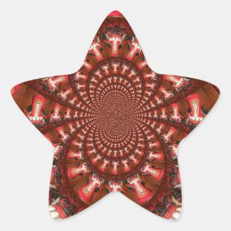 Hakuna Matata Beautiful Smile Star Sticker