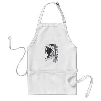 Hakuna Matata Big Little Fish.png Adult Apron