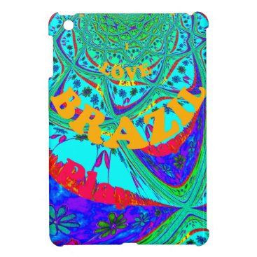 Beach Themed Hakuna Matata Brazil Festival colors.png iPad Mini Cases