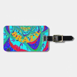 Hakuna Matata Brazil Festival colors.png Luggage Tag