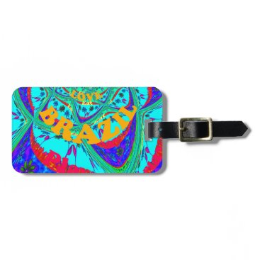 Beach Themed Hakuna Matata Brazil Festival colors.png Luggage Tag