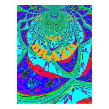 Beach Themed Hakuna Matata Brazil Festival colors.png Postcard