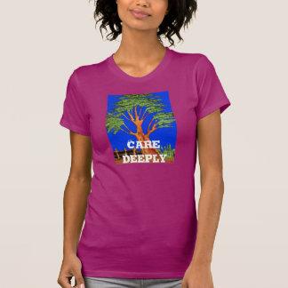 Hakuna Matata Care Deeply Vintage Gift Shirts