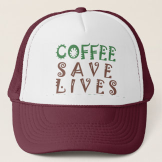 Hakuna Matata Coffee Saves Lives Trucker Hat